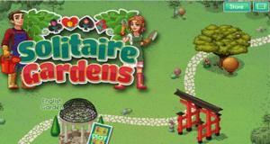 Pogo Solitaire Gardens