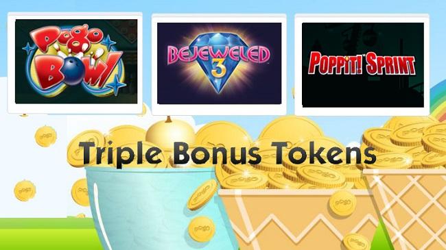 Pogo Triple Bonus Tokens